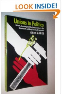 Unions in Politics: Britain, Germany, and the United States in the Nineteenth and Early Twentieth Centuries